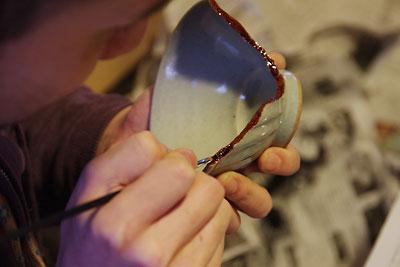 継会「金継ぎ,金繕い,ふぐ印,新漆,陶磁器補修,修理」