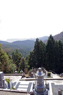 峠会「岩倉,坂原峠,墓地,静原,京都市街の眺め」
