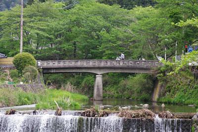 峠会「大原の旧道橋,岩倉と大原を結ぶ古道」