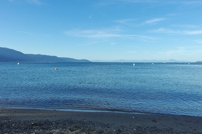 湖会告知「琵琶湖,湖水浴,避暑,納涼,和邇浜」