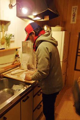 手工「節分,蕎麦づくり,手打ちそば,福そば,節分そば」