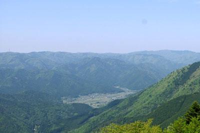 山会告知「大原西部山行,古知谷,焼杉山,翠黛山,金毘羅山,江文神社」