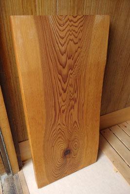 手工「死に節埋め,木糞漆,桐油,杉無垢材,置き床」