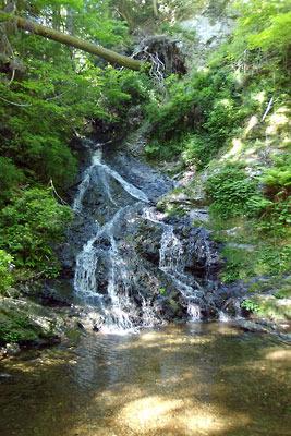 山会「京都北山廃村八丁行,刑部谷の滝」