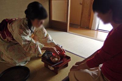 催事(本人)「茶会,茶懐石,汁替」