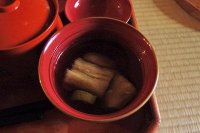 催事(本人)「茶会,茶懐石,煮物碗」