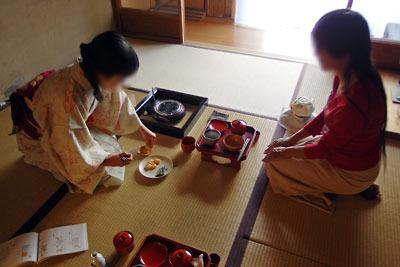 催事(本人)「茶会,茶懐石,八寸・取肴の提供」
