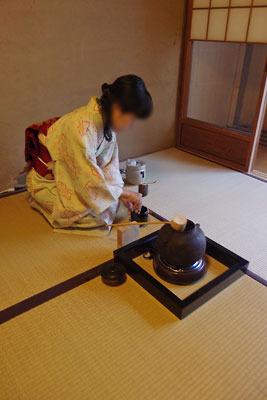 催事(本人)「茶会,茶懐石,濃茶点前」