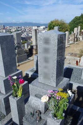 逍遥雑記「盆入り,墓参」