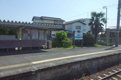 土讃線の金蔵寺駅(香川県)