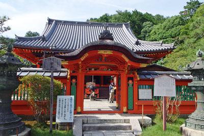 改修で美麗になった、京都市街東部・北山科にある毘沙門堂本堂