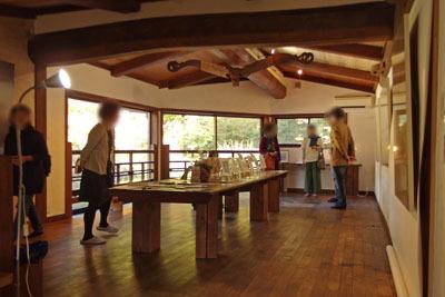 京都・安楽寺客殿「椛」2階の展示場