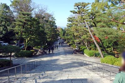 京都・大谷祖廟の参道
