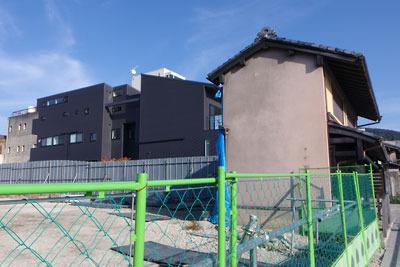 京都・清水五条地区の景観破壊