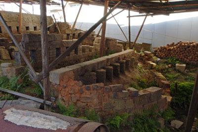 五条坂の登り窯跡