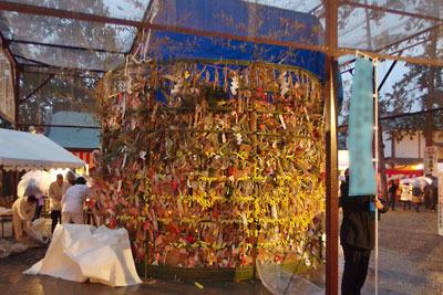 京都・吉田神社節分祭「火炉祭」の主役「火炉」