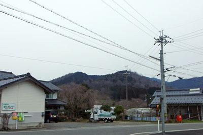 夜久野ヶ原府県境辺りからみた宝山