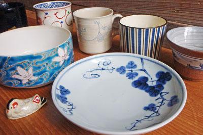 各種京焼(清水焼)