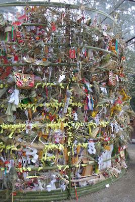 吉田節分祭「火炉祭」の火炉