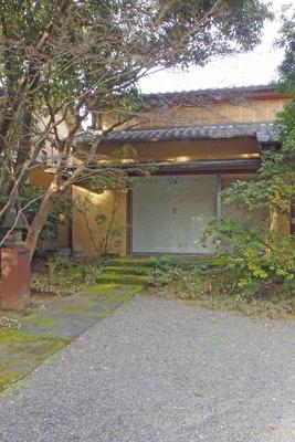 京都祇園のギャラリー「eN arts(エンアーツ)」の外観