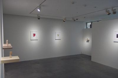 京都祇園のギャラリー「eN arts」で開かれていた白子勝之個展「exhibition 9」の様子