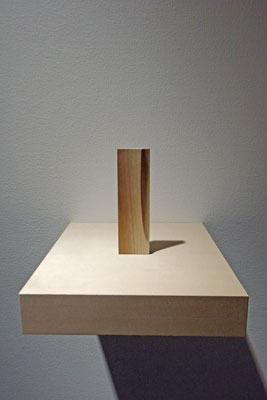白子展のもう一つの作品種、木片作品